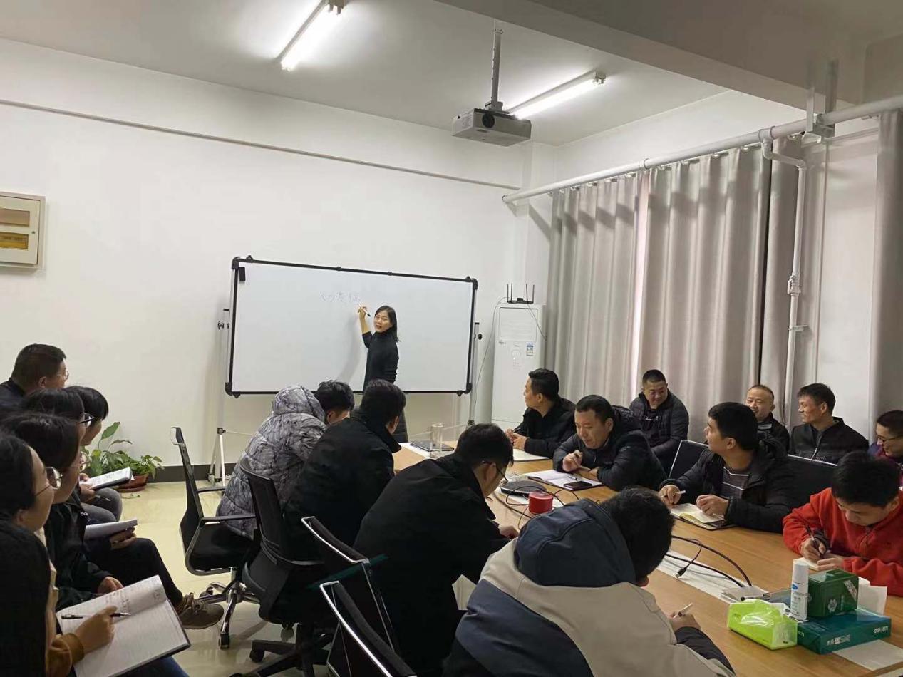 北京思路智园科技有限公司组织员工内部培训